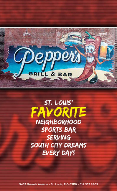 Pepper's Grill & Bar Menu | 5452 Gravois Avenue, St  Louis